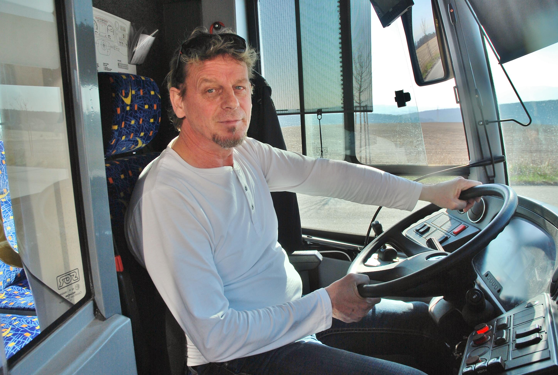 František Vrábel , řidič elektrobusu v DPMK (foto: Zdeněk Nesveda)
