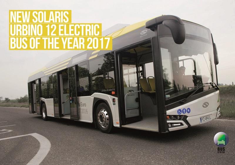 """""""najlepší mestský autobus roku 2017"""" si na poslednom medzinárodnom veľtrhu IAA Nutzfarzeuge v Hannoveri prvýkrát v histórii odniesol batériový elektrobus."""