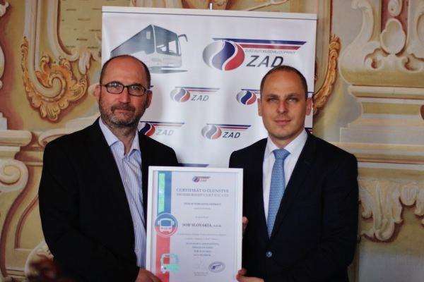 Výrobca SOR sa stal novým členom Zväzu autobusovej dopravy