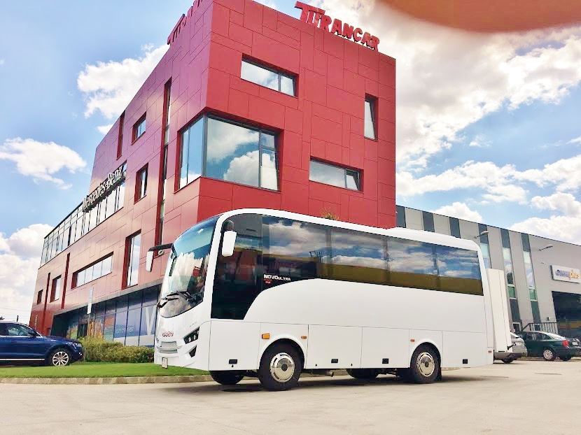 Od roku 2004 sa TURANCAR stal výhradným dovozcom autobusov ISUZU na Slovensko a do Českej republiky (foto: Zdeněk Nesveda)