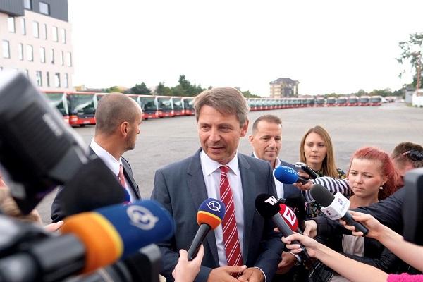 Primátor města Bratislava JUDr. Ivo Nesrovnal (ilustrační foto: DPB)