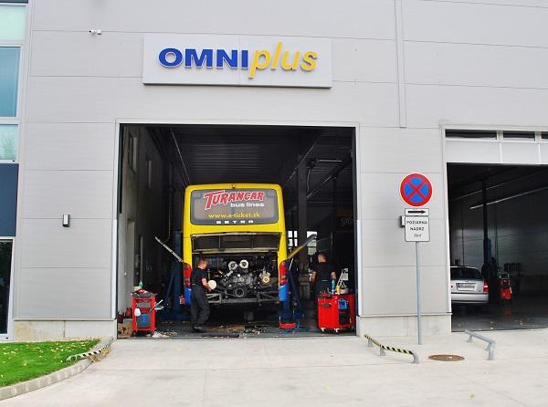 Moderné servisné centrum OMNIplus TURANCAR SK v Nitre  (foto: Turancar)
