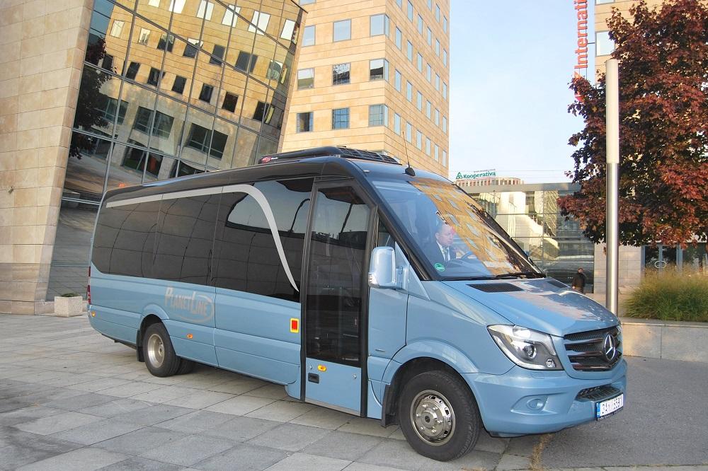 BUS SHOW 2018: 3 typy malých autobusov Mercedes-Benz Sprinter z KHMC