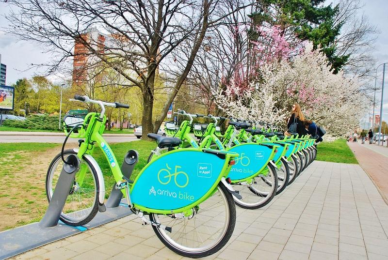 V Nitre už funguje zdieľanie bicyklov: Stala sa tak prvým mestom na Slovensku