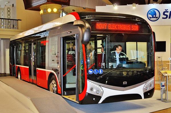 Elektrické autobusy budoucnost veřejné dopravy (ilustrační foto: Zdeněk Nesveda)