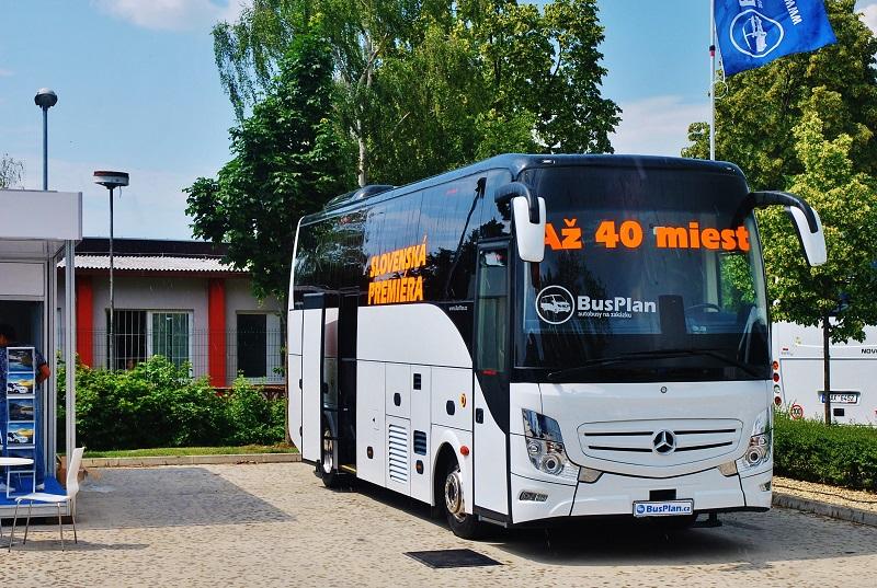 BusPlan, český importér s pestrou nabídkou midibusů na BUS SHOW v Nitře