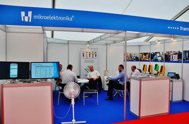 Spoločnosť Mikroelektronika predstavila na veľtrhu BUS SHOW dva typy zariadení. Rad validátorov Vega (foto. Zdeněk Nesveda