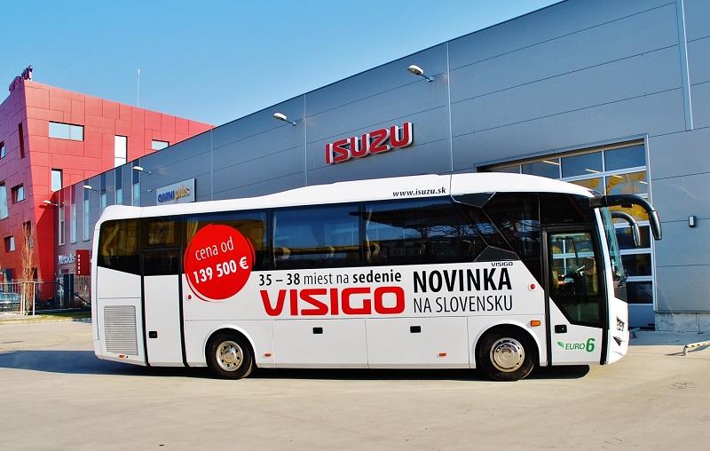 Expozícia autobusov ISUZU na veľtrhu BUS SHOW zdravá doprava Nitra 2018 (foto: Zdeněk Nesveda)