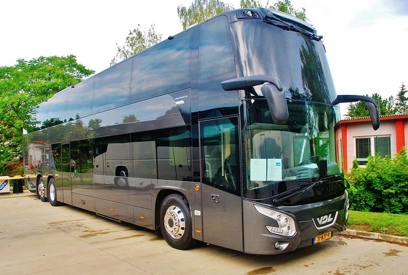 Slovenské výstavné premiéra autokaru VDL Futura FDD2 na veľtrhu BUS SHOW zdravá doprava v Nitre (foto: Zdeněk Nesveda)