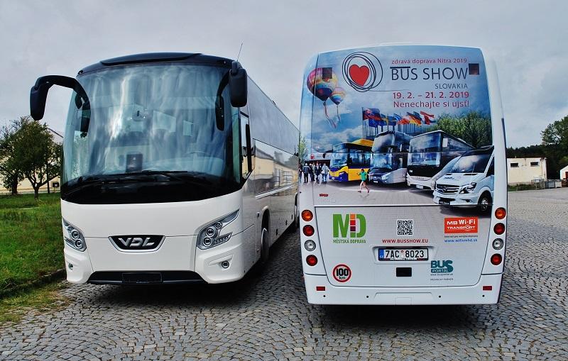 Autokary nové generace VDL  Futura se představí na veletrhu BUS SHOW zdravá doprava 2019 v Nitře (foto: Zdeněk Nesveda)