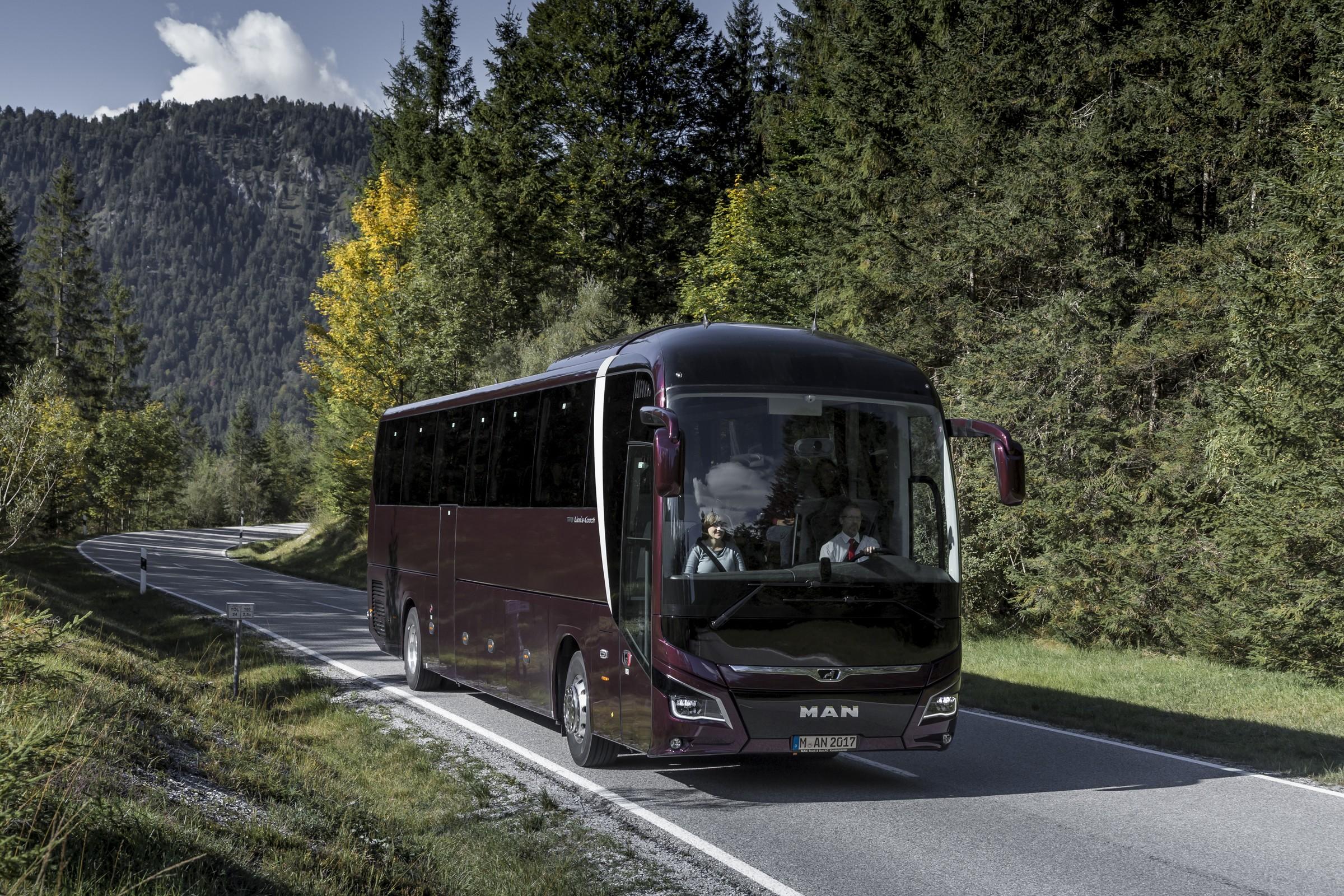 MAN představí na BUS SHOW v Nitře nejnovější zájezdový autokar Lion's Coach