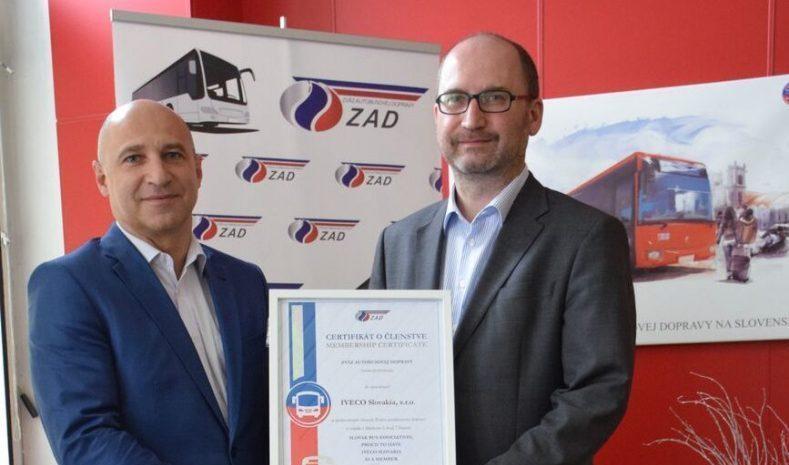 Novým členom Zväzu autobusovej dopravy sa stala spoločnosť IVECO