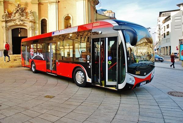 Nové elektrobusy SOR  v Bratislavě (Ilustrační foto: Zdeněk Nesveda)