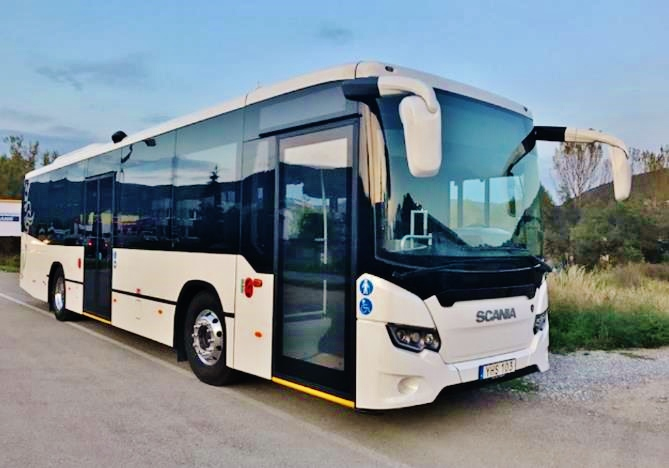 Scania Citywide Suburban K320 CNG (foto: Scania)