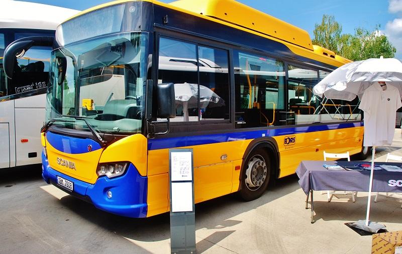 Scania Citywide LF N280 UB4x2 12,0m. OPTIMAL SLOVAK CITY BUS na BUS SHOW zdravá doprava 2018 (foto: Zdeněk Nesveda)