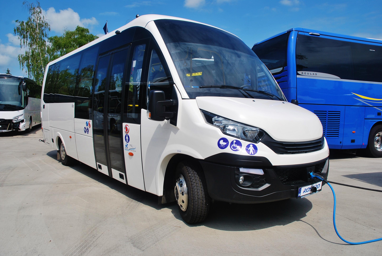 Elektrobus EVC - Rošero First FCLLI  na BUS SHOW 2018 v Nitre (foto: Zdeněk Nesveda)
