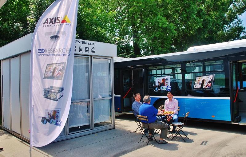 ONE SYSTEM na veľtrhu BUS SHOW zdravá doprava  2018 V v Nitre (foto: Zdeněk Nesveda