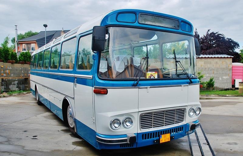 Autobus Karosa 2032 bol vyrobený v roku 1968, majitel Mikuláš Ivaško (foto: Zdeněk Nesveda)