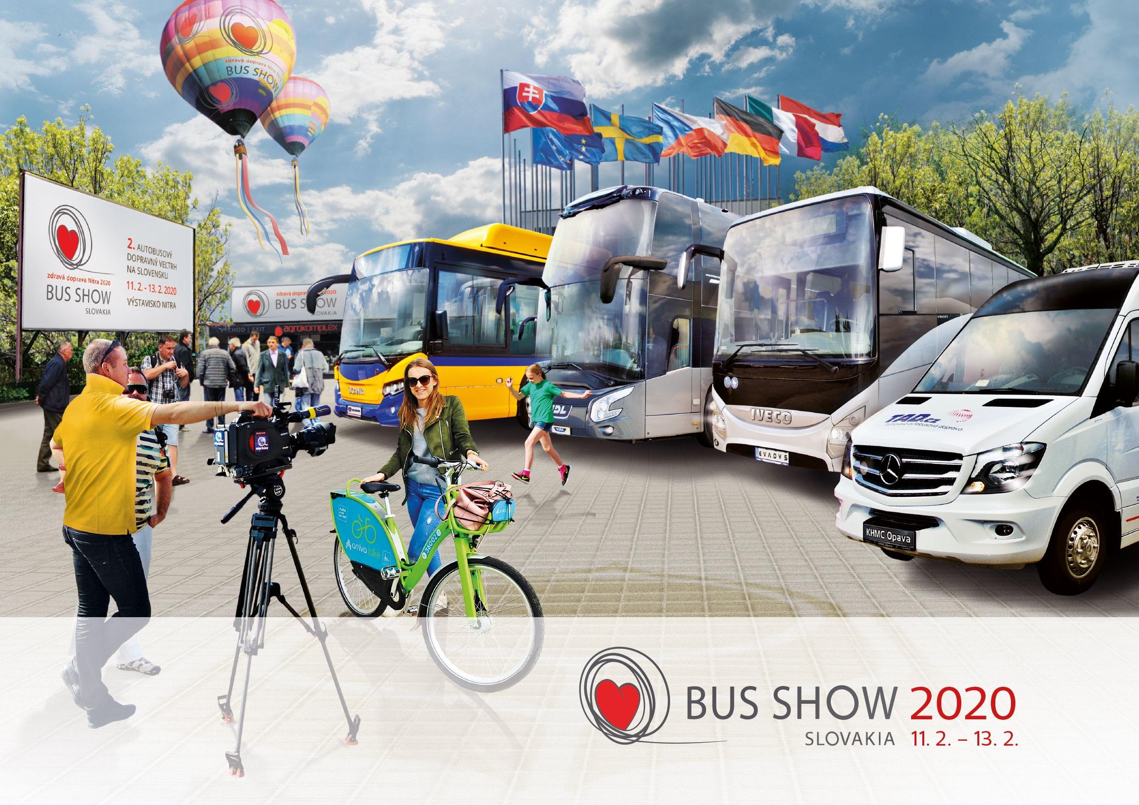 Zväz autobusovej dopravy je hlavným partnerom veľtrhu BUS SHOW zdravá doprava 2020