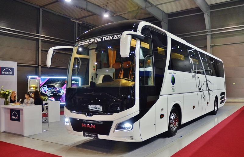 MAN Lion's Coach autokar roku 2020 na BUS SHOW 2020 v Nitre