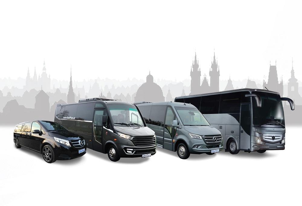 Minibusy Mercedes-Benz a IVECO od spoločnosti BusPlan na BUS SHOW 2020 v Nitre