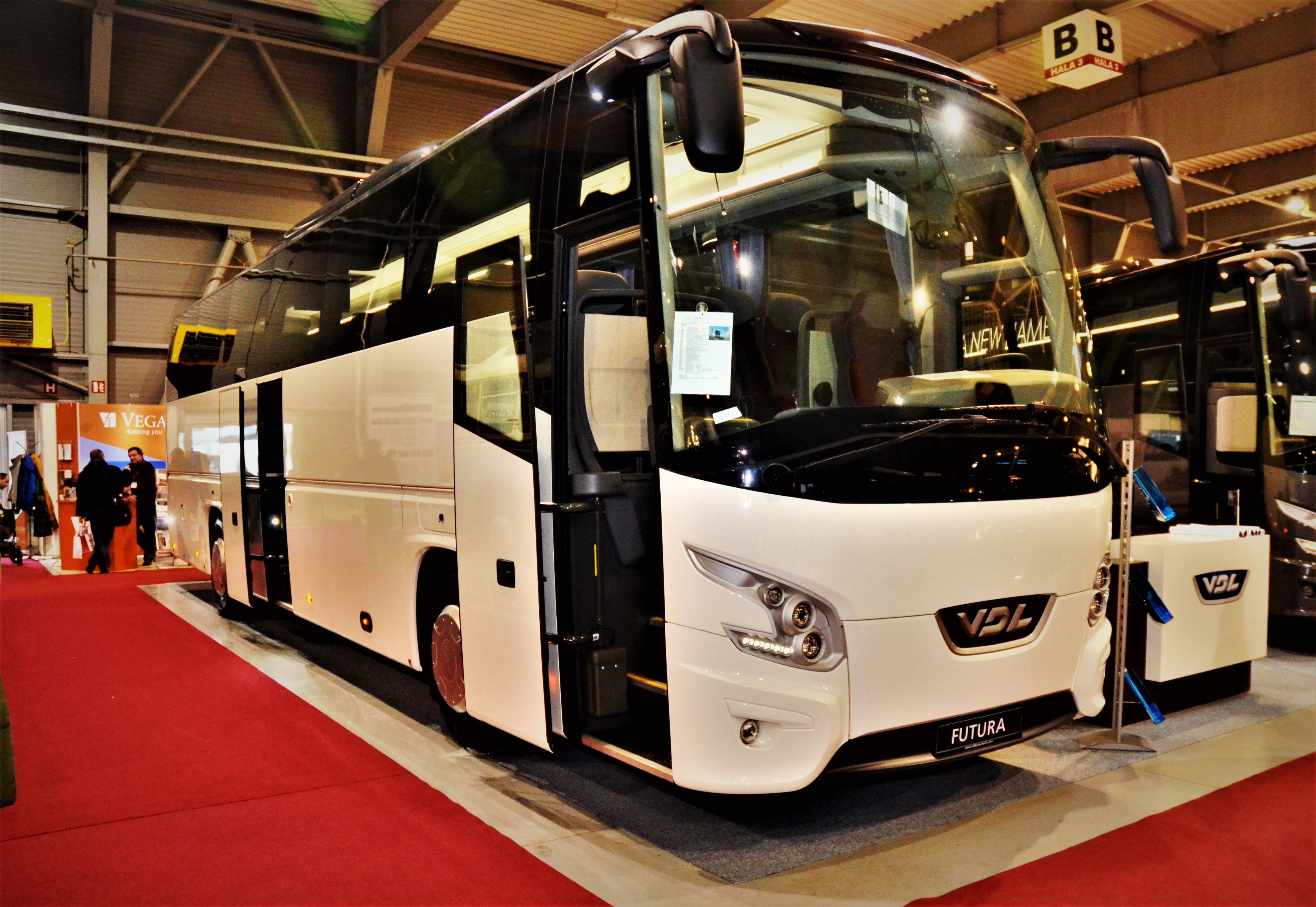 Luxusné autokary VDL Futura FHD2 k okamžitému odberu na BUS SHOW 2020