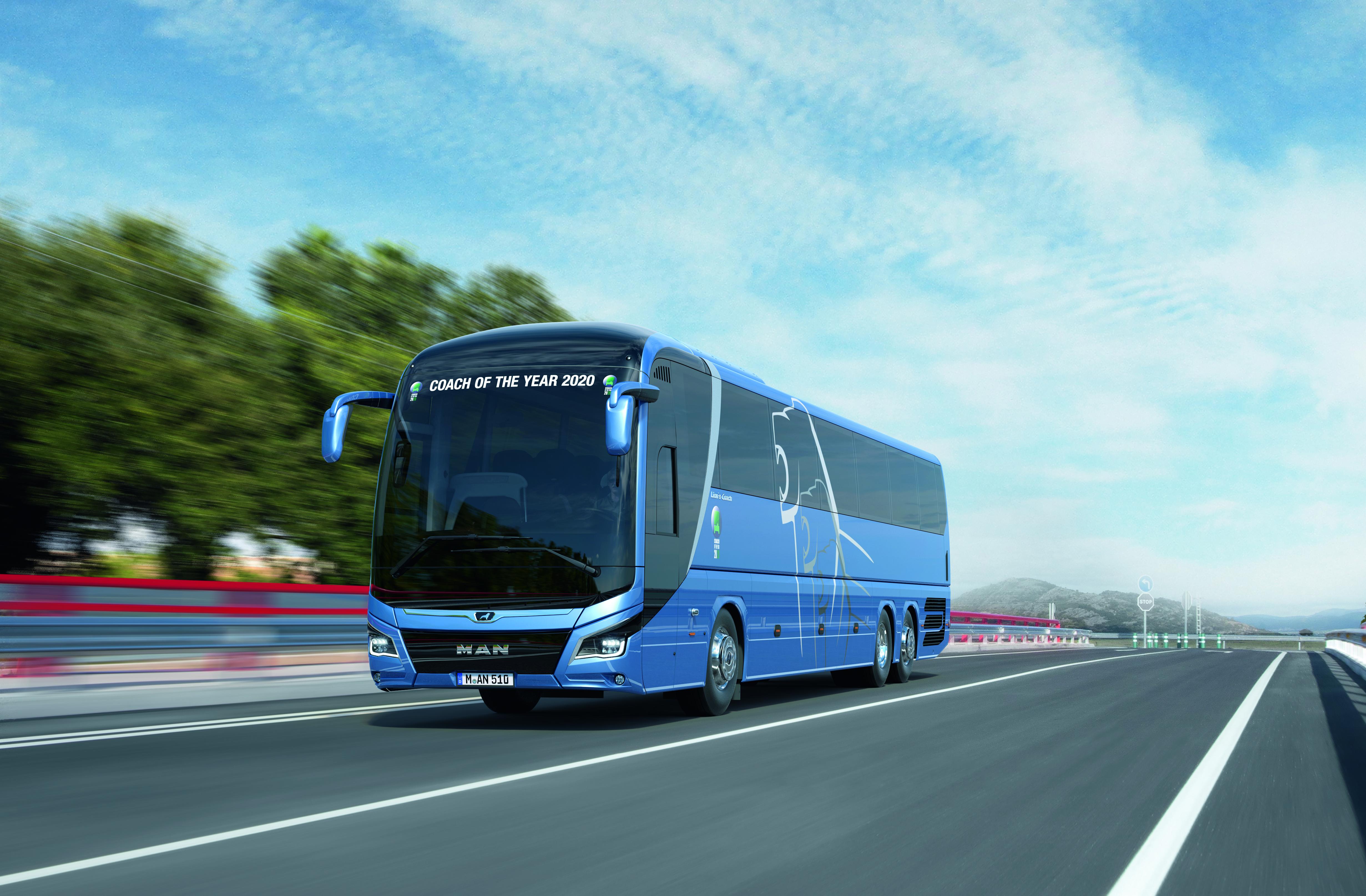 """MAN Lion's Coach – """"Autokar roku 2020"""" na BUS SHOW 2020 v Nitre"""