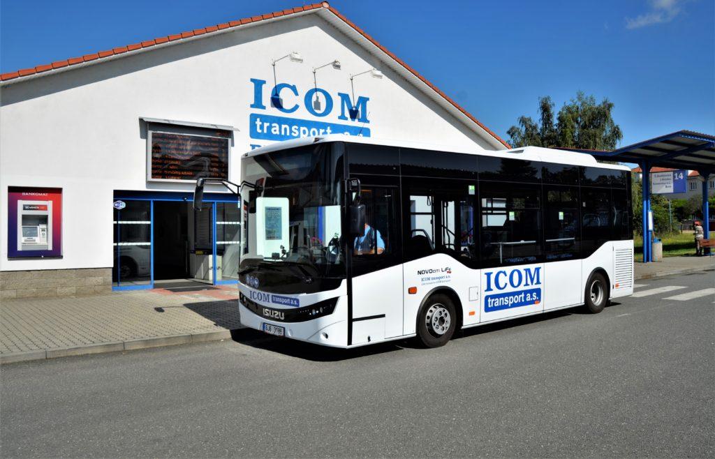 ISUZU NovoCiti Life jezdí na městských linkách v Pelhřimov